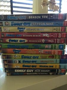 Family guy seasons 1-10 + two family guy movies Nundah Brisbane North East Preview
