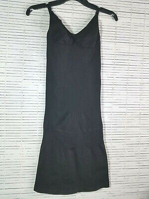 Julie France JF016 Cami Dress Shaper Black 3X Shapewear Adjustable Straps NWT