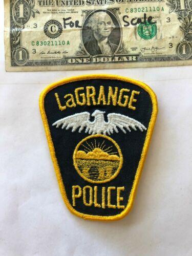 Rare LaGrange Ohio Police Patch un-sewn in great shape