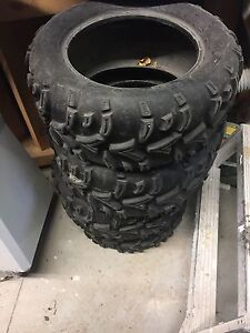 Arctic Cat Prowler Take off tires X 3