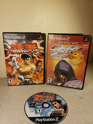 Tekken 4 CIB, 5 CIB, Tag (Disc Only) Ps2 Playstation 2 Games Professionally...