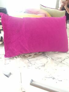 Fuchsia velvet Florence Broardhurst cushion Bedford Bayswater Area Preview