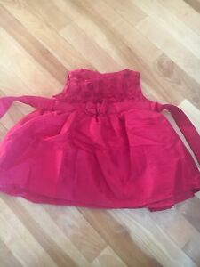 Red Christmas dress size 12 mths