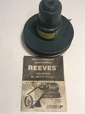 Reliance Reeves X-v Size 5675 Variable Speed Pulley 58 Bore H95501