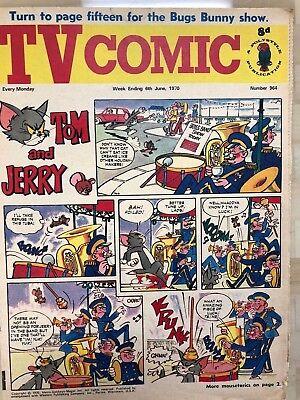 TV COMIC #964 weekly British comic book June 6 1970  Avengers Doctor Who