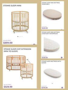 Full set of Stokke® Sleepi & Mini as New!