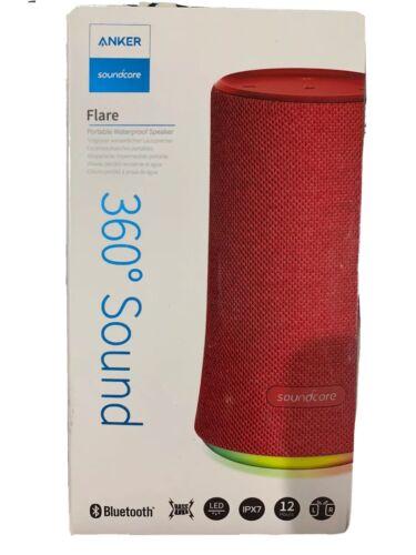 NIB Anker Soundcore Flare Portable Bluetooth Speaker Waterpr