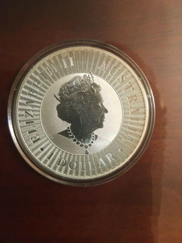 Australia 2019 one dollar Kangaroo silver  coin