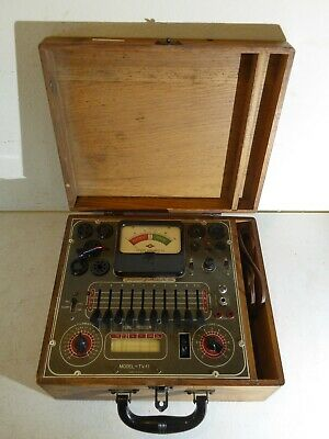 Superior Instrument Co. Tube Tester Model Tv-11 1271