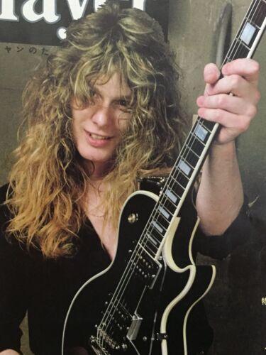"""THIN LIZZY! - WHITESNAKE - BLUE MURDER John Sykes 8x10"""" photo!!  guitar"""