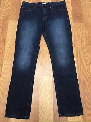 Travis Mathew Blue Jeans Mens Size 34 (33 X 32) Stretch Denim Dark Wash AG