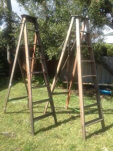 Wooden ladders Maylands Bayswater Area Preview