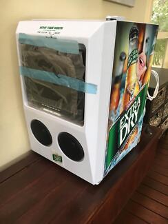 Tooheys Extra Dry Bar Fridge with TV