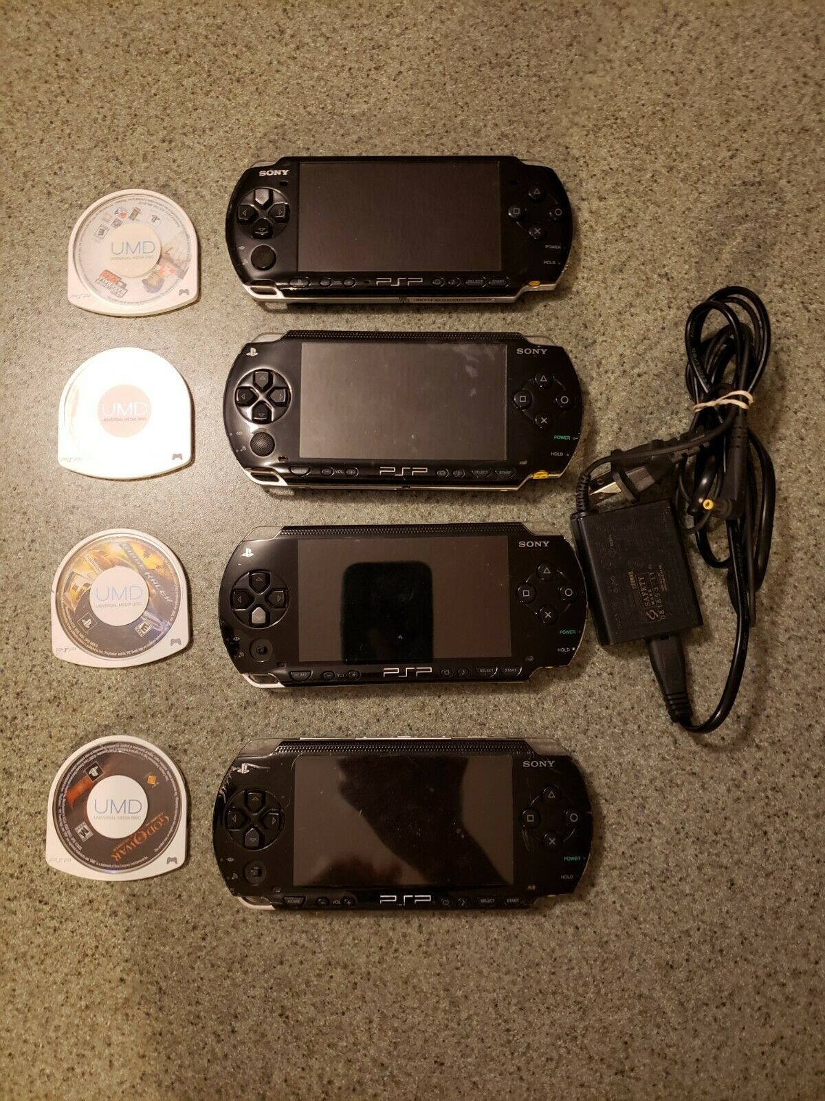 Sony PSPs Lot With Games - $51.00