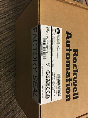Allen Bradley 1769-l24er-qb1b Compactlogix Brand New Factory Sealed 2019