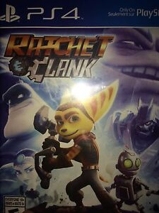 Ratchet and clank PS4 video game