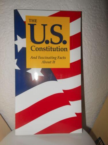 Pocket U.s. Constitution Declaration Of Independence Usa Facts --multiple 4 Sale