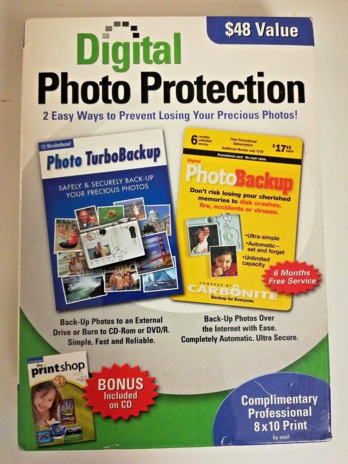Digital Photo Protection Software Microsoft Windows Encore Backup Photos Secure