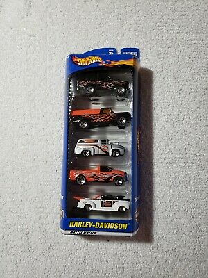 HOT WHEELS HARLEY DAVIDSON 5-PACK