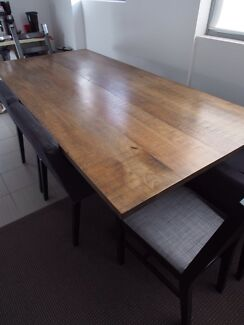 * Price Drop! ** SOLID WOOD Dining table