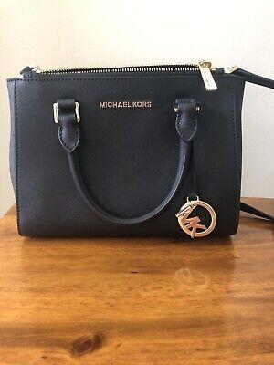 Michael Kors Handbag Purse Black Leather