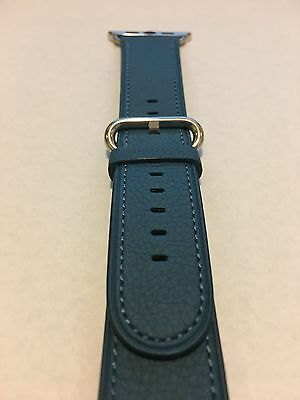 Genuine Apple  Watch Band -  42mm Turquoise Classic Buckle
