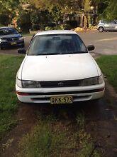 95 Toyota Corolla Sedan Dundas Valley Parramatta Area Preview