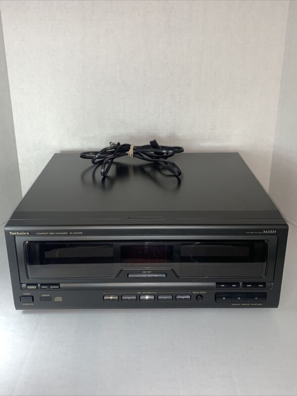Technics Compact Disc Changer Sc-MC409 110 Disk Changer