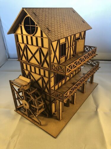 OO Scale Tudor Water Mill