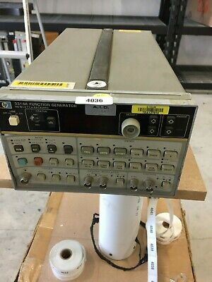Hp Agilent Keysight 3314a Function Generator 20mhz
