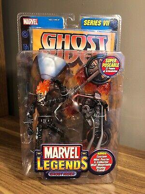 Marvel Legends Series VII 7 Ghost Rider 2004 Toy Biz Sealed in Packaging NIB