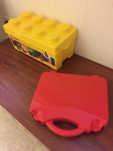 2 LEGO storage containers