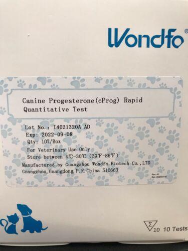 Wondfo Canine PROGESTERONE (cProg) Rapid Quantitative Test Kit