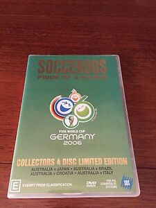 DVD of Socceroos World Cup games in 2006 Cardiff South Lake Macquarie Area Preview