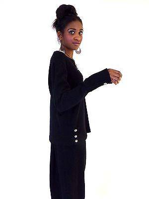 TRUE VINTAGE 60s SAKS FIFTH AVENUE MOD RHINESTONE OUTFIT ENSEMBLE - 60s Mod Outfits