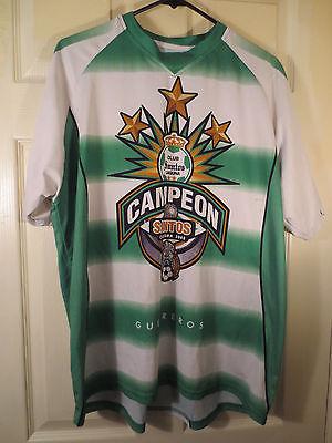 Club Santos Laguna Soccer Futbol Jersey - 2008 Santos Clausura Campeon - Size L image