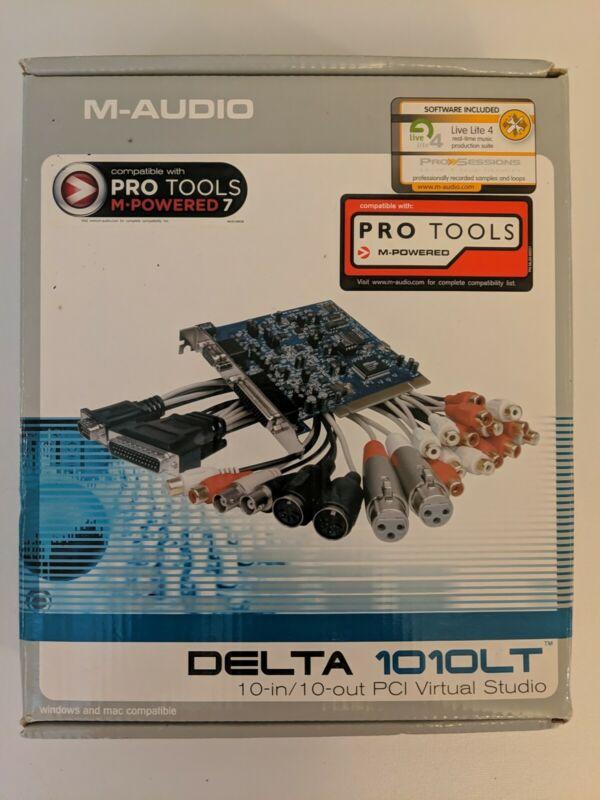 M-Audio Delta PCI (DELTA 1010LT) Sound Card - with Original Box & Accessories