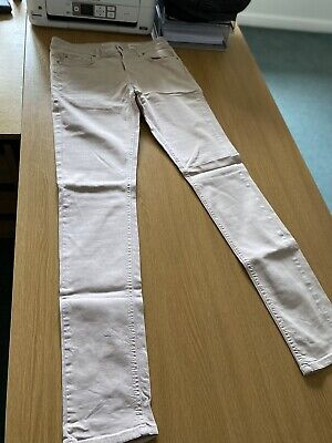 Baby Pink Jeans - Small - Waist 31in - Length - 32in