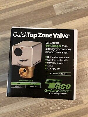Taco Qt075c2-1 Quicktop Zone Valve - 34 Sweat