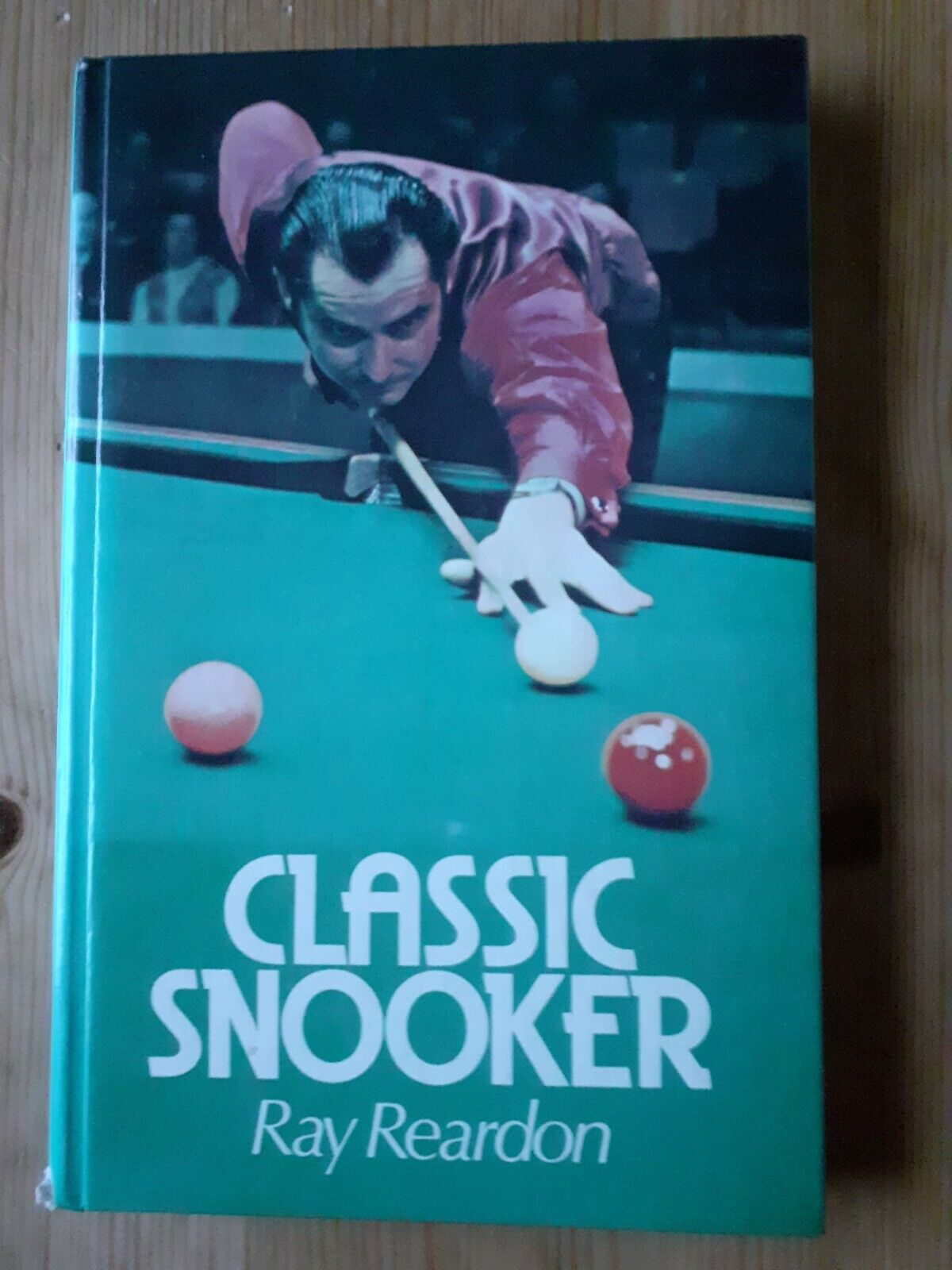 Classic Snooker Book-Learn How to Play by Ray Reardon Pub. 1977