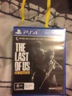 PlayStation 4 game last of us remastered