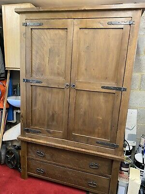 Solid Wood Large Wardrobe