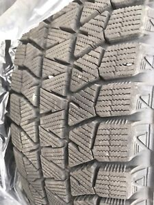15 inch Blizzak Winter tires on winter rims