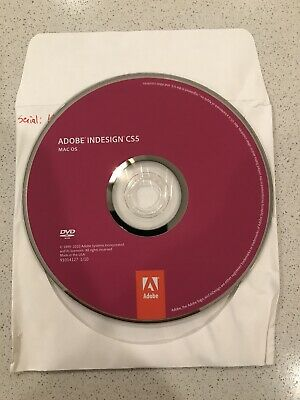 Adobe InDesign Creative Suite (CS5) - Full Version for Mac - OEM Serial #