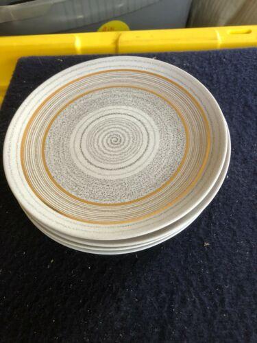 "(5) vintage Sascha Brastoff Roman Coin 9"" diameter plates"