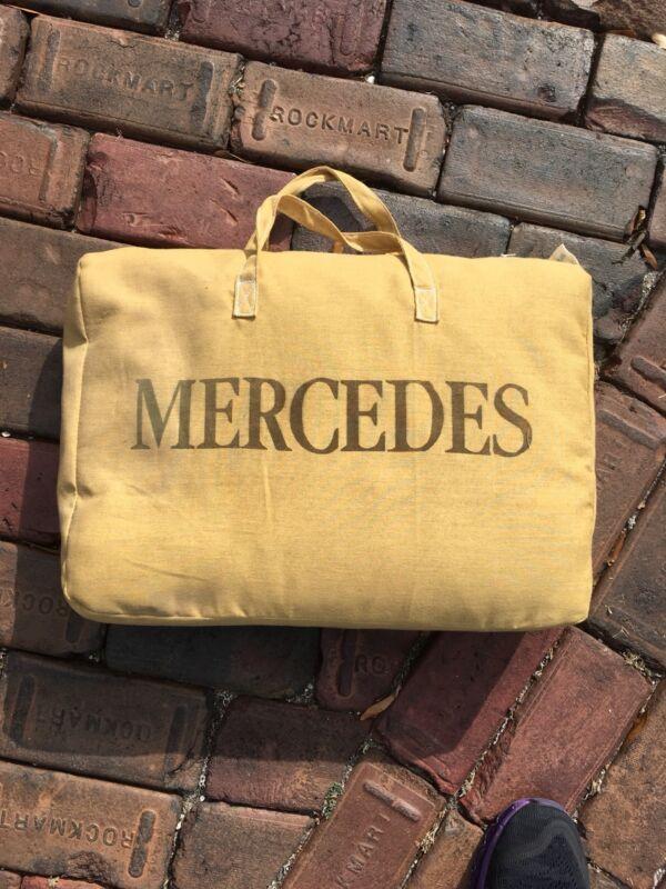 Vintage Mercedes Benz Car Cover In Case!  Gorgeous! Circa 1988