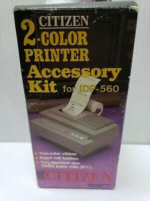 Citizen Idp-560 Receipt Printer Paper 2 Color Ribbon S44ko42