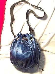 Designer blue handbag/ purse
