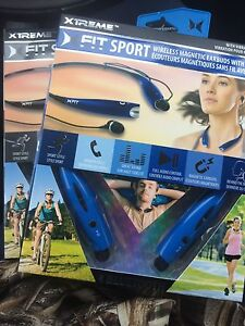 Fitsport wireless magnetic earbuds