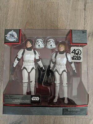 Star Wars Elite Series 40th Anniversary Han And Luke